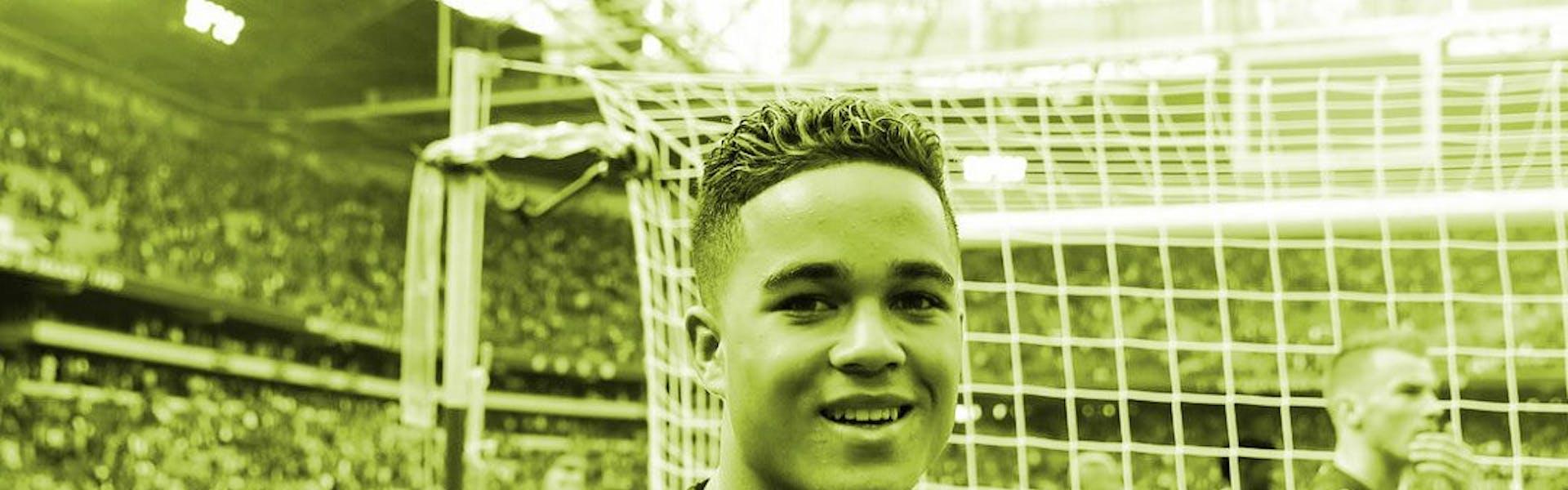 Kluivert, il piccolo