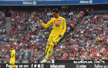Il Napoli si prepara alla Champions