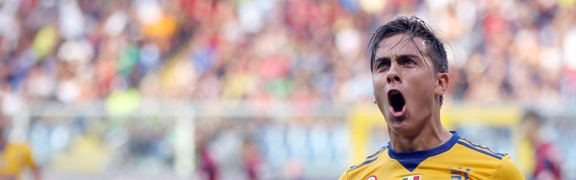 Come Dybala ha battuto il Genoa