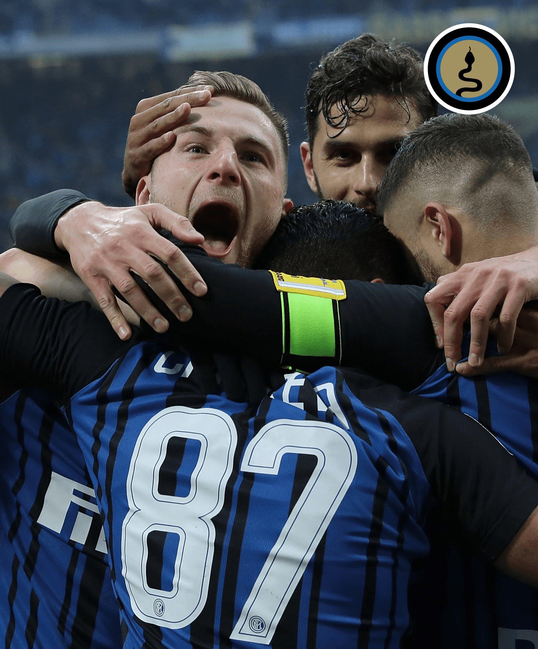 Derby d'Italia nell'aria